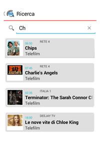 Arriva l' App Serie Tv e dei telefilm sugli smartphone.