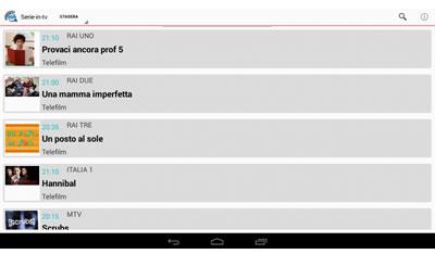 App Serie Tv Tablet